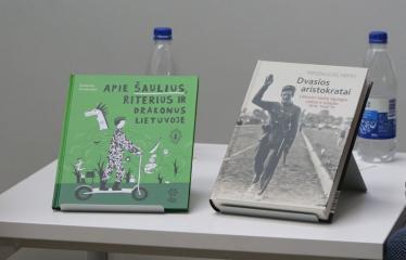 Anykščių miesto šventė (2019) - Norberto Černiausko ir Mindaugo Nefo knygų sutiktuvės  - Knygos