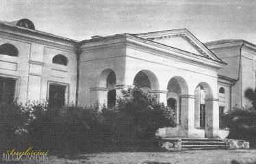"""Fotokonkursas """"Anykščiai ir apylinkės"""" (1959) - Burbiškio dvaras (Vidurinė mokykla)"""