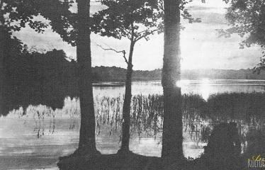 """Fotokonkursas """"Anykščiai ir apylinkės"""" (1959) - Rubikių ežeras"""