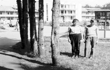 """Fotokonkursas """"Anykščiai ir apylinkės"""" (1975) - Vaikai poilsio namuose"""