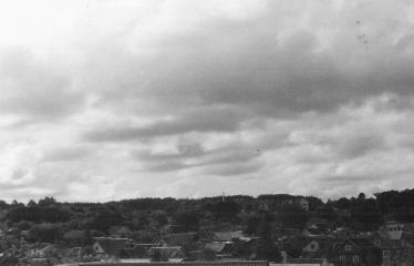 Analoginė fotografija - nuo A iki Z. Kūrybinės dirbtuvės su dr. Gintautu Trimaku - Miesto stogai