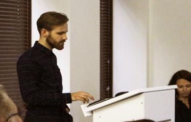 Dainuvos slėnis: kūrybinių dirbtuvių startas - Paskaitą veda Julius Aglinskas