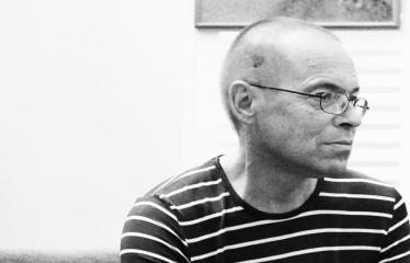 """Pasivaikščiojimas su rašytoju Valdu Papieviu """"ėjimas - nerimo gyventi išraiška"""" - Rašytojas Valdas Papievis"""