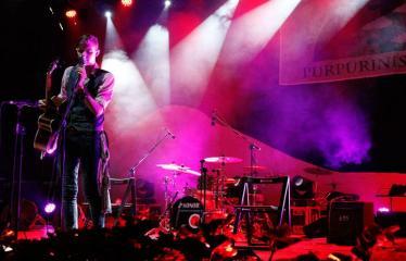 """Festivalis """"Purpurinis vakaras"""" (2016) - Penktadienio vakaro koncertas - Kristijonas Ribaitis"""