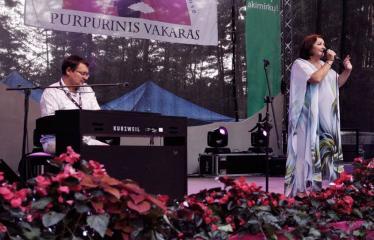 """Festivalis """"Purpurinis vakaras"""" (2016) - Didysis festivalio pabaigos koncertas - Larisa Kalpokaitė"""