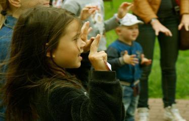 """Ekskursija-spektaklis """"Kaltūnas"""" - Vaikai pradeda ekskursiją """"Kaltūnas"""""""