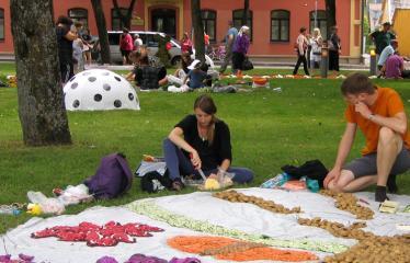 """Anykščių miesto šventė (2013) - """"Buvom, esam. BŪSMA!"""" - Roko grupės """"Antis"""" koncertas - Floristiniai kilimai"""