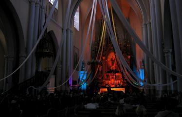 """Anykščių miesto šventė (2013) - """"Buvom, esam. BŪSMA!"""" - Roko grupės """"Antis"""" koncertas - Bažnyčia"""