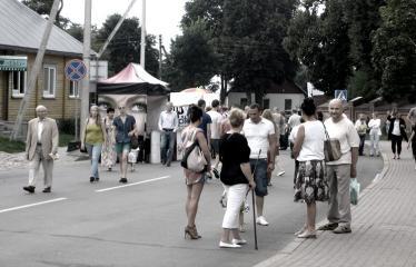 """Anykščių miesto šventė (2013) - """"Buvom, esam. BŪSMA!"""" - Roko grupės """"Antis"""" koncertas - Renginio akimirka"""