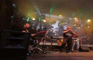 """Anykščių miesto šventė (2017) - """"ŠvenČIA ANYKŠČIAI"""" - Vakaro koncertas - """"Laiptai"""", """"Pelenai"""", """"BIX"""", DJ Monsta - Grupė """"Laiptai"""""""