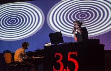 "Elektroninės muzikos festivalis ""The Machine Started To Flow Into A Vein (Vol. 3.5)"" - Black & Stuff"