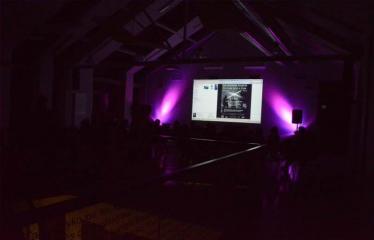 "Muzikos festivalio ""The Machine Started To Flow Into A Vein"" pristatymas / diskusija - Vakaro akimirka"
