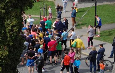 """Tradicinis 52-asis bėgimas """"Anykščiai – Puntuko akmuo – Anykščiai"""" - Publika"""