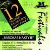 """Festivalis """"Muzikos savaitgaliai Anykščiuose"""" (2014) - Koncertas """"Barokas naktyje"""""""